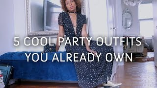 NAIL CHRISTMAS PARTY OUTFITS   WHAT TO WEAR TO A HOLIDAY PARTY!!