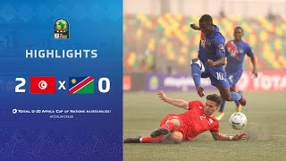 CAN U20 2021 | Groupe B : Tunisie 2-0 Namibie