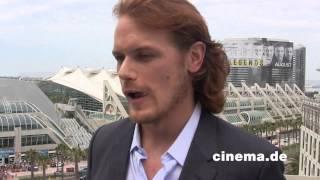 Outlander // Sam Heughan // Interview // CINEMA-Redaktion