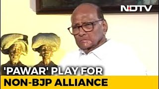 In Opposition Liaising To Stop BJP, Sharad Pawar Opens New Line