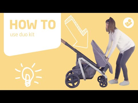 Maxi-Cosi | Lila stroller | How to use duo kit