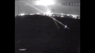 Новое видео авиакатастрофы Boeing-737  в Ростове