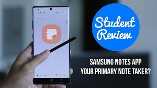 Samsung Notes App Review | Galaxy Note 10+ | Its Just Okay For Students