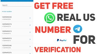 How To Get Free USA Phone Number For Verification 2021 🔥 For SMS Verification | Usa
