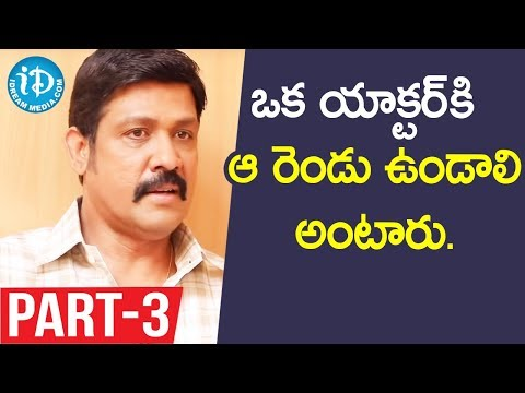 Actor Sampath Raj Exclusive Interview - Part #3 || Talking Movies With iDream