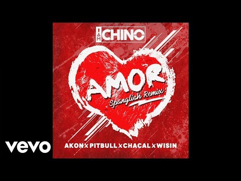 IAmChino, Pitbull, Wisin, Akon, Chacal - Amor Spanglish Remix [Official Audio]