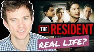 THE RESIDENT (Fox) trailer review. Real life doctor reaction