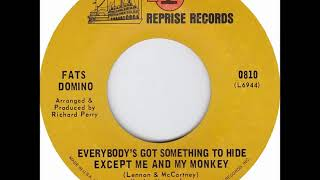 Fats Domino - Everybody's Got Something To Hide Except Me And My Monkey - December 1968