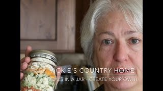 Meals In A Jar - Create Your Own!
