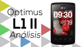 [Análisis] LG Optimus L1 II (en español)