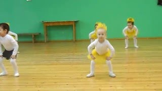 "Танец ""Барабашка"". Наш позитивчик!!! (София-3,8 года)"