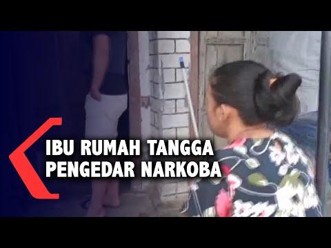 Polisi Ringkus Ibu Rumah Tangga Pengedar Narkoba