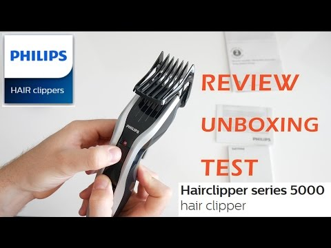 Philips Series 5000 Hairclipper | REVIEW | UNBOXING | TEST