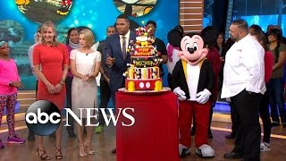 Mickey Mouse Birthday Celebration Live In Times Square