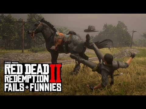Red Dead Redemption 2 - Fails & Funnies #92