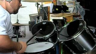 arch enemy - exist to exit (drum cover)