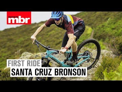 Santa Cruz Bronson   First Ride   Mountain Bike Rider
