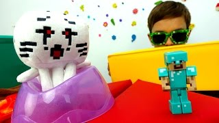 Секреты игры Майнкрафт - Экзамен для Стива по миру Minecraft.