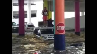 Six Rescued After Las Vegas Strip Floods