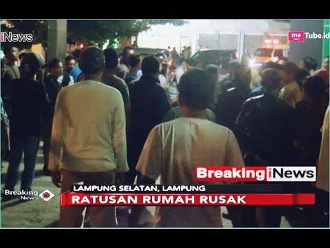 Pesisir Kalianda dan Rajabasa Terdampak Parah Gelombang Tinggi di Lampung - Breaking iNews 23/12
