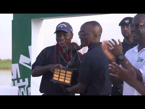 Madalisto Muthiya is the Uganda Golf Open tournament winner