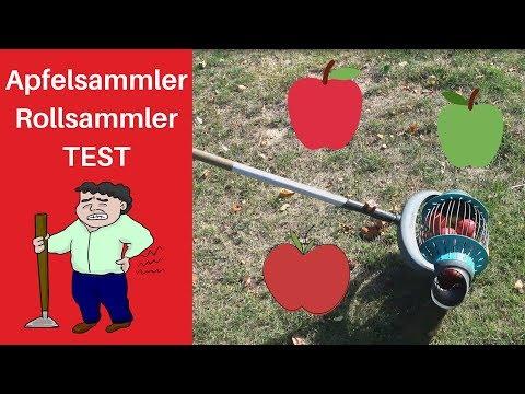 Apfelsammler Test 🍎 Gardena Rollsammler 👍