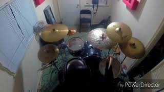 """Guitarred and Feathered"" by Etid drum cover"