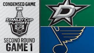 04/25/19 Second Round, Gm1: Stars @ Blues