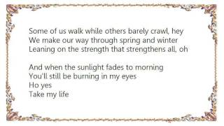 Cindy Morgan - Take My Life Lyrics