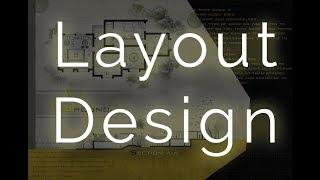 Architecture Layout Design   Photoshop