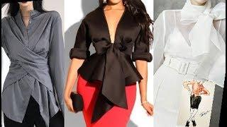 Женские блузки: модные тенденции 2020