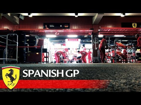 Spanish Grand Prix - Work in progress in Barcelona