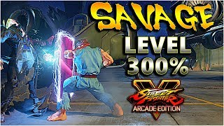 SFV AE - Dirt Level 300% | A Season 3.5 Compilation - SF5