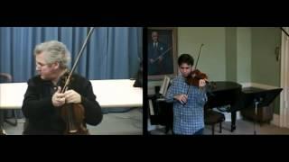 Violin Position (Pinchas Zukerman)