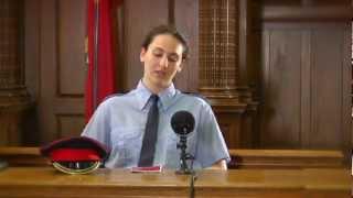 Mock Trial Step-by-Step: Police Officer Testimony