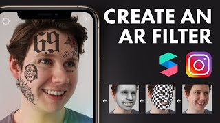 Create an Instagram Filter | Beginner Spark AR Tutorial