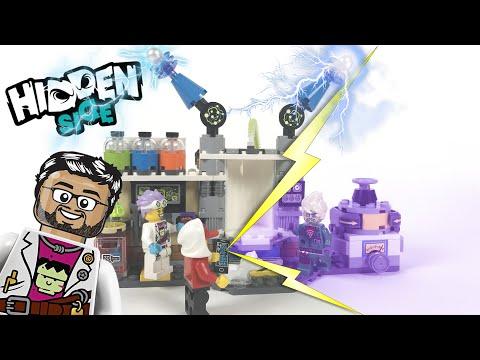 Vidéo LEGO Hidden Side 70418 : Le laboratoire détecteur de fantômes