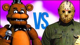 ПЯТНИЦА 13 VS 5 НОЧЕЙ С ФРЕДДИ | СУПЕР РЭП БИТВА | Friday the 13th Jason VS Five Nights At Freddy