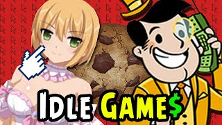 Sakura Clicker and other Idle Games