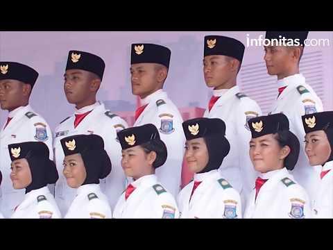 Detik-detik Pengibaran Bendera Merah Putih Pemkot Tangsel