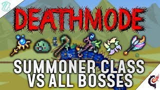 Terraria Calamity Mod - All Bosses As Summoner! (Deathmode Difficulty, Calamity Version 1.3)