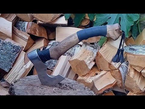 Топор викинга из обычного топора своими руками