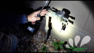 Denver Sprinkler System Blowout Video