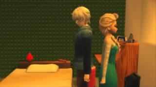 Elsa and Jack Kissed   Jelsa Disney Frozen 2 3D Elsa and Jack Frost