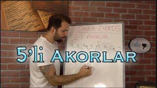 5'li Akorlar - Power Akorlara Giriş - Müzik Teorisi 7