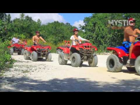 ATV, Zip Lines & Cenote tour Mystic Adventure, Playa del carmen, Tulum, & Riviera Maya, México