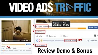 Video Ads Traffic Review Demo Bonus - How Te Get 44,445 FREE Views To One Video