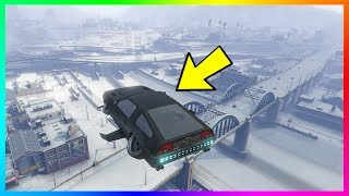 SNOWING IN LOS SANTOS IN SEPTEMBER EXPLAINED - GTA Online Snowfall Happening Early For Some Players!