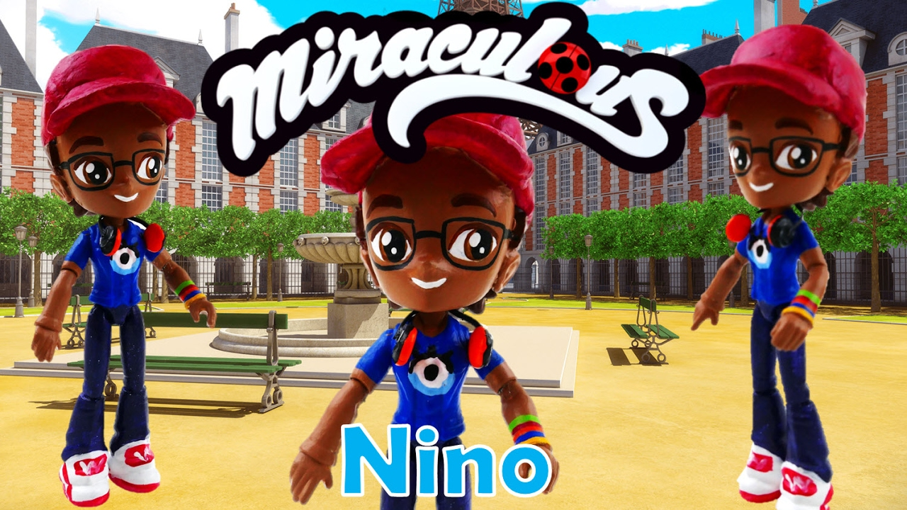 Miraculous Ladybug Toy NINO The Bubbler Doll Custom Tutorial | Evies Toy House