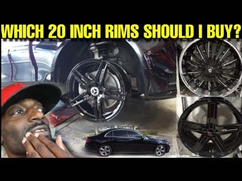 WHICH RIMS SHOULD I BUY FOR MY 2019 MERCEDES BENZ E300?